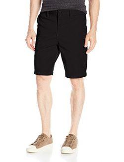 DC Men's Worker Straight 20.5 inch Walk Short, Black, 38