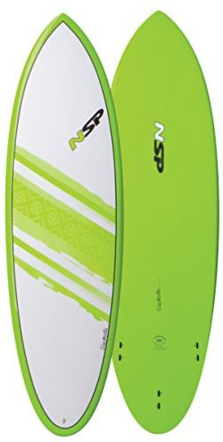 NSP Elements Hybrid Short Surfboard | Fins Included | All Around Design