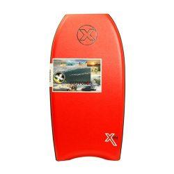 Custom X Titan XPE Crescent Tail Bodyboard (Red , 42)