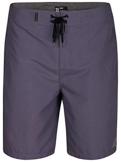 Hurley Men's One & Only 2.0 21″ Boardshorts Light Carbon 38