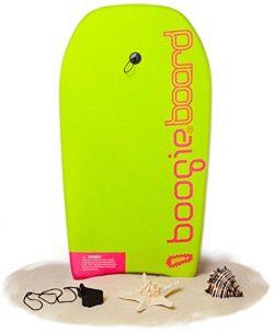 Boogie Board 33 Bodyboard – Durable Fiberclad Deck with Phuzion Core and Leash – Cho ...