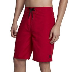 Hurley Men's One & Only 2.0 21″ Boardshorts Gym Red 36