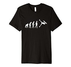 Mens Funny Bodyboarding Evolution Shirt for Bodyboarders Large Black