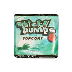 Sticky Bumps Top Coat Cool/Cold Surf Wax (Pack of 3), White