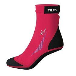 Tilos 2.5mm Sport Skin Sock (Pink, 4XS – Size Kids 13-1)