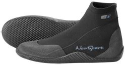 NeoSport Wetsuits Premium Neoprene 3mm Low Top Pull On Boot, Black, 8 – Water Shoes, Surfi ...