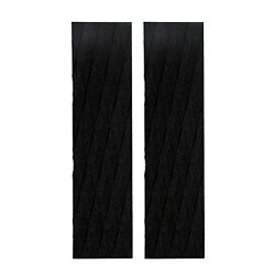 MagiDeal 2 Pieces Diamond Grooved Non-slip Ultralight EVA Skimboard Tail Pads Traction Pad Bar G ...