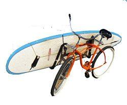 Paradise Racks Side Mount Bike Rack for Surfboards