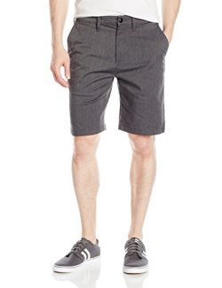 Quiksilver Men's Everyday Union Stretch Short, Dark Grey Heather, 33