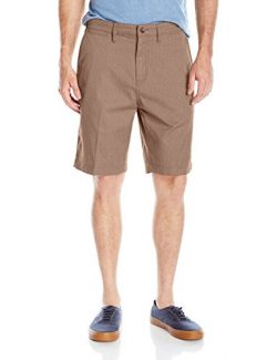Quiksilver Men's Everyday Union Stretch Short, Chocolate Brown Heather, 38