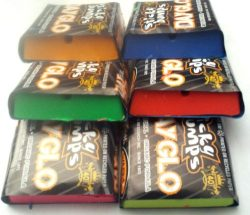 Sticky Bumps Warm-Tropical Day Glo Surfboard Wax Assorted 6 Pack