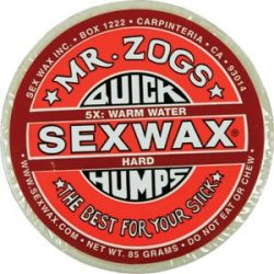 Sex Wax Sexwax Quick Humps Surf Surfing Wax Warm Water Temperature