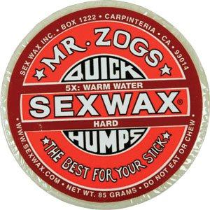 Sex Wax Sexwax Quick Humps Surf Surfing Wax Warm Water Temperature