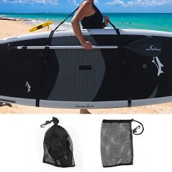 Own the Wave SUP Carry with Mesh Storage Bag