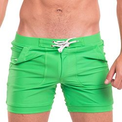 Taddlee Mens Swimwear Swimsuits Swim Boxer Briefs Trunks Long Surf Board Shorts (S)