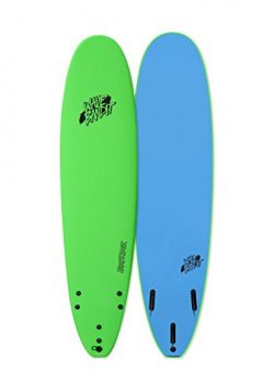 Wave Bandit Catch Surf EZ Rider 8'0″ Short Surf Board, Neon Green