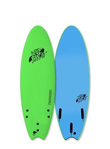 Catch Surf Wave Bandit Performer Tri Surfboard, Neon Green ...  Neon Surfboards