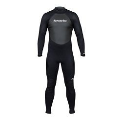 Hyperflex Wetsuits Men's Access 3/2mm Full Suit – (Black, Small)