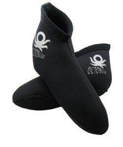 3mm OctoBlue Neoprene Pull-On Kids Children's Youth Short Socks Snorkel Snorkeling Socks S ...