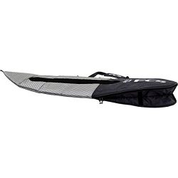 FCS Flight All Purpose / Fun Board / Long Board Travel Surfboard Bag (Charcoal, Fun Board 7̸ ...