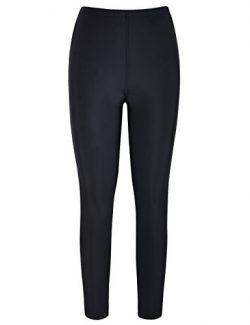 coastal rose Women's Swim Bottom UPF50+ Sport Rashguard Leggings Swim Pants
