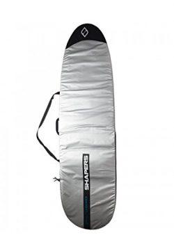 Shapers Daylite Funboard Surfboard Bag – Choose Size (Silver, 8'0)