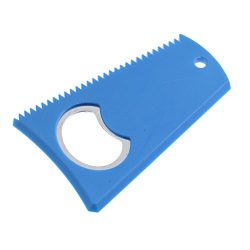 MonkeyJack 3.15″ x 2″ Surfing Surfboard Wax Comb Wax Scraper Remover with Bottle Ope ...