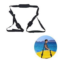 Kayak Carrying Strap Portable Surfboard Shoulder Strap Adjustable Nylon Canoe SUP Surfboard Stra ...