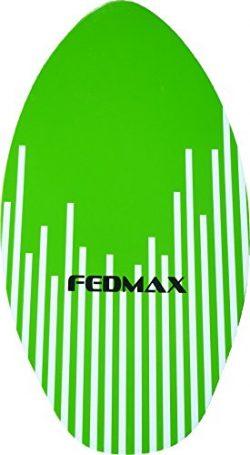 Fedmax Skimboard with High Gloss Coat | Green, 41″ (120lbs. – 220lbs.) | Skim Board  ...