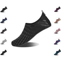 NINGMENG Aqua Socks Beach Water Shoes Barefoot Yoga Socks Quick-Dry Surf Swim Shoes for Women Men