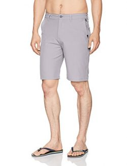 Quiksilver Men's Union Amphibian Hybrid 21 Short, Sleet, 44