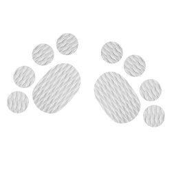 MonkeyJack 10 Pieces Diamond Grooved Grey EVA Deck SUP Traction Pad Grip for Dog Stand Up Paddle ...