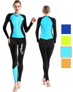 COPOZZ Wetsuit Mens Womens Youth Wetsuit – Full Body UV Protection – For Diving Snor ...