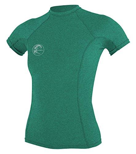 O'Neill Women's Hybrid UPF 50+ Short Sleeve Rash Guard