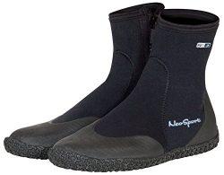 Neo Sport Premium Neoprene Men & Women Wetsuit Boots, Shoes with puncture resistant sole 3mm ...