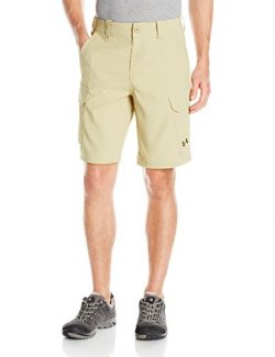 Under Armour Men's Fish Hunter Cargo Shorts, Enamel/Saddle, 30