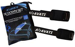 Acavati – Car Surfboard Tie Down – SUP Tie Down Straps – 15 ft – Kayak T ...