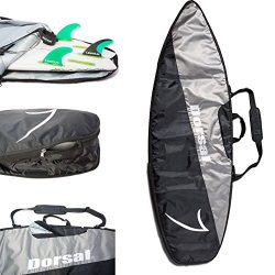 Dorsal Travel Shortboard Surfboard Bag [5'10, 6'0, 6'2, 6'6, 6'8,  ...