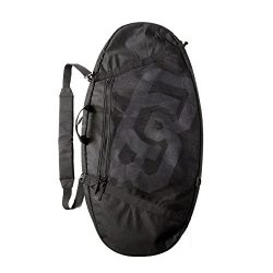 DB Skimboards Wanderer Deluxe Skimboard Travel Bag Black, Skimboard Carrying Bag for up to Five  ...