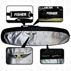 Fisher Boards 8'0″ RECON IV 800D Surfboard Travel Bag