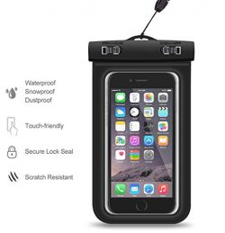 Action Mount | Universal Waterproof Case Smartphone, Operable with Any Phone. Great for Stand Up ...