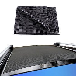 Life-Mate Car Roof Cargo Carrier Protective Mat Anti Slip Roof Rack Pad with Extra Padding for C ...