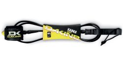 Dakine Kainui Surfboard Leash (8-Feet x 5/16-Inch, Black)