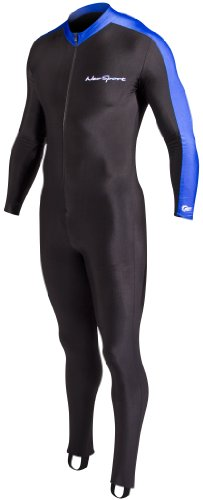 NeoSport Wetsuits Full Body Sports Skins Full Body Sports Skins, Blue Trim, X – Diving, Sn ...