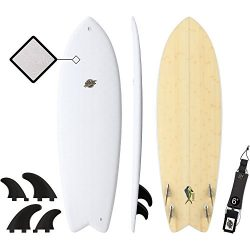 SBBC – 5'8 Soft Top Surfboard – || 5ft 8in Mahi || – Fun Performance Hybrid Fo ...