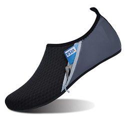 FEETCITY Water Sports Shoes Aqua Barefoot Socks Pool Beach Swim Exercise for Women and Men XXXL( ...