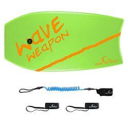 Own the Wave 37″ Green & Orange Bodyboard