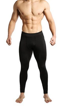 Tough Mode Men's Compression Pants Athletic Briefs WOD Shorts Crossfit Tights Basketball G ...