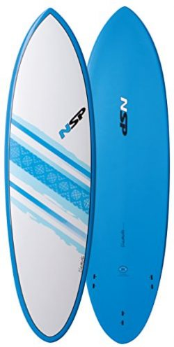 NSP Elements Hybrid Short Surfboard | Fins Included | All Around Design | Available in 6'0 ...