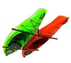 2 Kayak Ceiling Rack | Hi-Port 2 Storage Hanger Overhead Mount | Adjustable (Extra Large (30R ...
